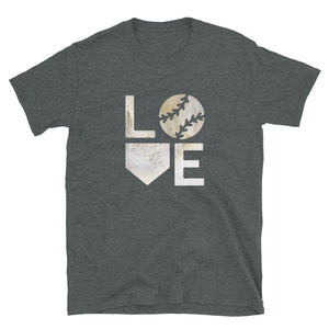 Love Baseball Short-Sleeve Unisex T-Shirt