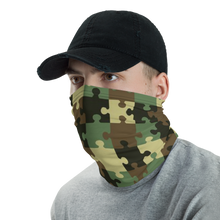 Load image into Gallery viewer, Camo Puzzle Neck Gaiter/ Mask