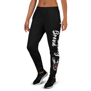 Thowed Bunny Brand (Black) Women's Joggers
