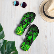 Marijuana High Hope Plants Flip-Flops