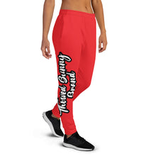 Load image into Gallery viewer, Thowed Bunny Brand Pocket Logo (Red) Women's Joggers