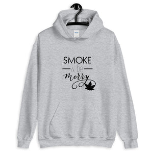Smoke and be Merry Unisex Hoodie