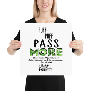 Puff Puff Pass MORE Poster