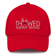 Load image into Gallery viewer, Thowed Bunny Brand Cotton Cap