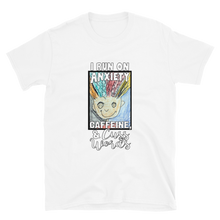 Load image into Gallery viewer, Anxiety, Caffeine & Cuss Words Short-Sleeve Unisex T-Shirt