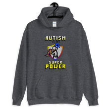 Load image into Gallery viewer, Autism Super Power Unisex Hoodie