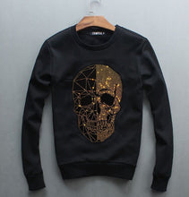 Load image into Gallery viewer, Sweatshirt Diamond design Hoodie  Hip Hop Crewneck Sweatshirts Winter Autumn  Design Brand Clothing
