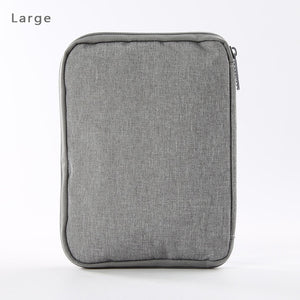 Multifunction Portable Watch Strap Organizer Watch Band Box Storage Bag Watchband Holder Watch Travel Case Pouch Gray Black