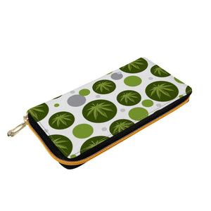 Modern Day Hippie Zipper Purse Clutch Bag