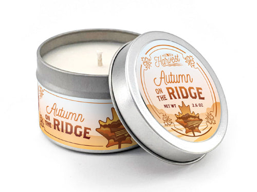 Autumn on the Ridge Soy Candle