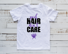 "Load image into Gallery viewer, STAR Youth T-Shirt ""Pool Hair Don't Care"""