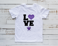"Load image into Gallery viewer, STAR Youth T-Shirt ""Love Swimming"""