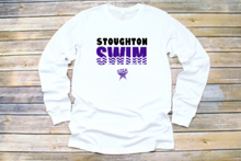 "Load image into Gallery viewer, STAR Youth Long Sleeve Shirt ""Stoughton Swim"""