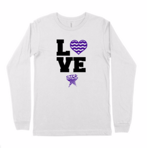"Adult Long Sleeve ""Love Swimming"""