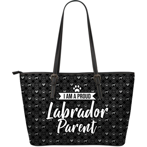 Black Labrador Parent Tote One Gear Stop