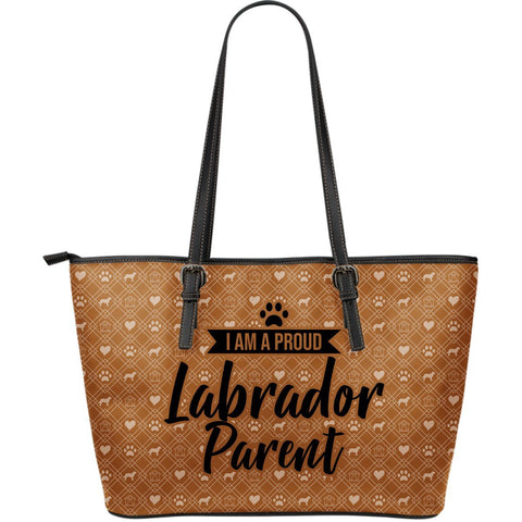 Brown Labrador Parent Tote One Gear Stop