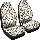 German Shepherd Car Seat Covers (Set of 2) One Gear Stop