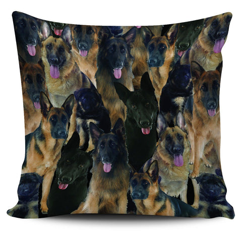 German Shepherd Pillow Case One Gear Stop