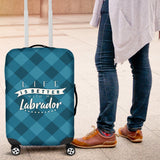 Life is better with my Labrador- Luggage Cover One Gear Stop
