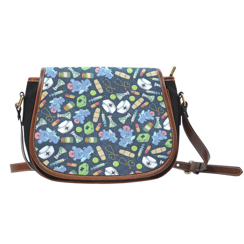 Nurse Doodle Saddle Bag One Gear Stop