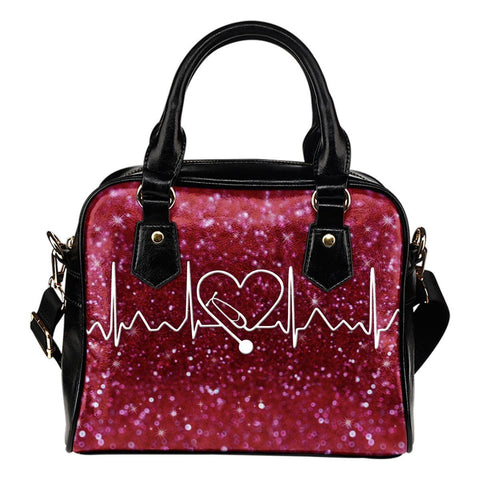 NURSE HEART BEAT HANDBAG One Gear Stop