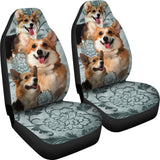 Pembroke Welsh Corgi Car Seat Covers (Set of 2) Car Seat Covers One Gear Stop