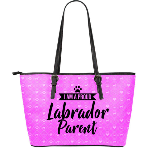 Pink Bag Labrador One Gear Stop