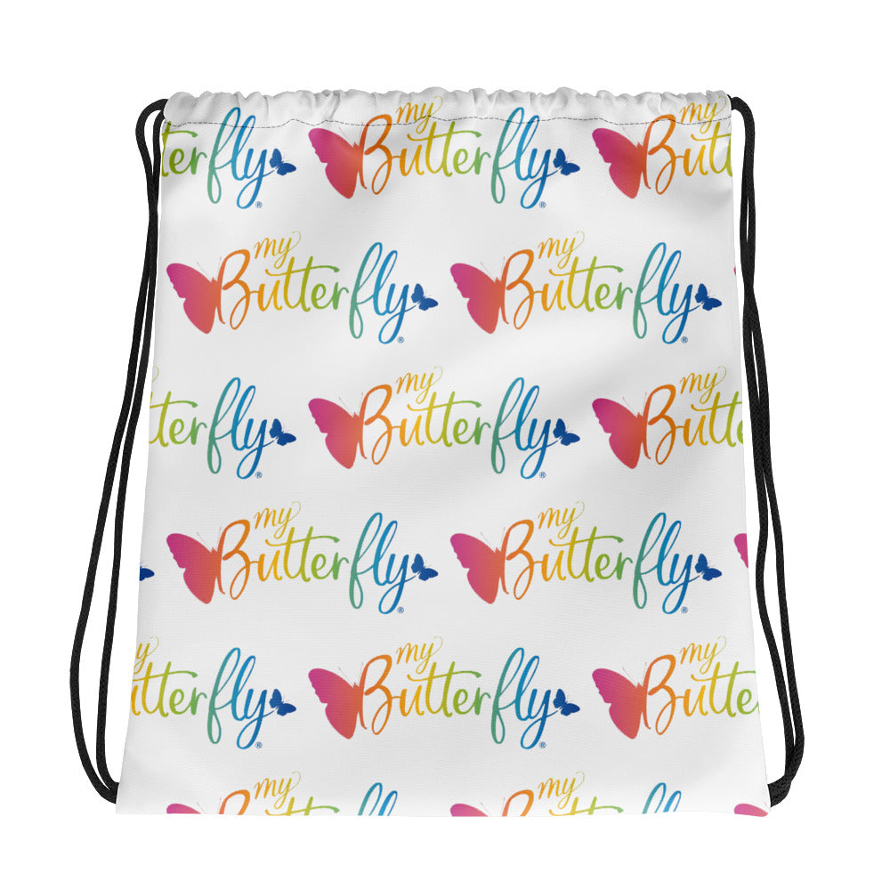 My Butterfly Drawstring bag