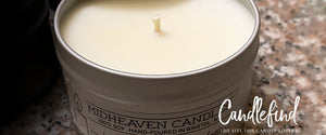 Candlefind reviews Midheaven Candles White Birch scent