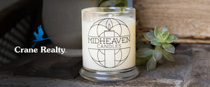 Midheaven Candles as a guest writer for Crane Realty