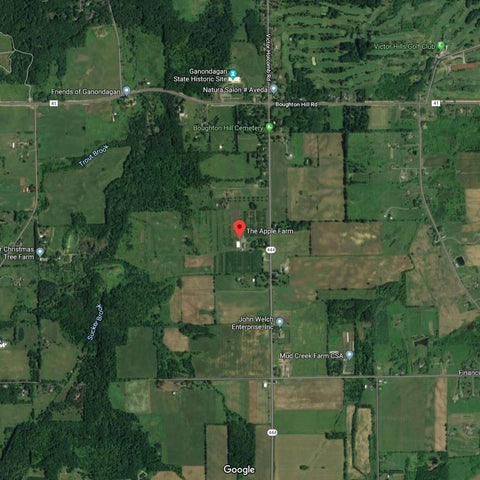 The Apple Farm in Victor, NY – Google Maps // Midheaven Candles
