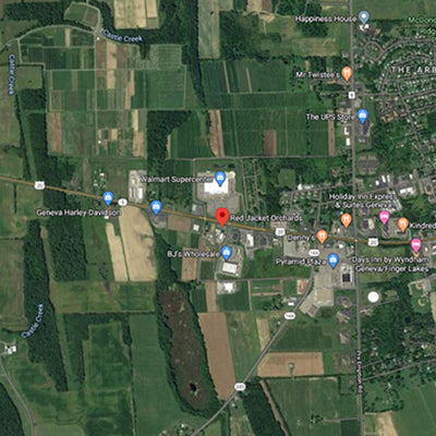 Red Apple Orchards in Geneva, NY – Google Maps // Midheaven Candles