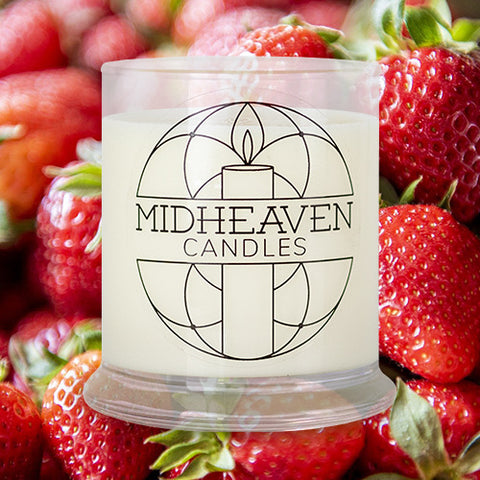 Midheaven Strawberry Dreams Soy Candle // Feature Image