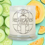 Midheaven Cucumber Melon Soy Candle // Featured Cucumber Melon Photo