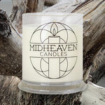 Midheaven Coastal Driftwood Soy Candle // Featured Driftwood Photo