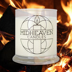 Midheaven Fireside Soy Candle // Featured Fireside Photo