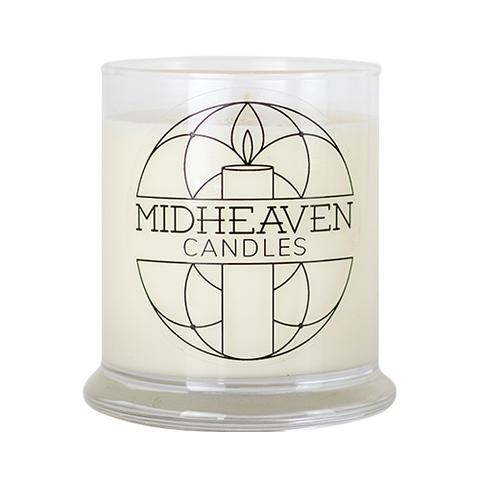 Midheaven Grapefruit Mint Soy Candle // Large Glass Jar