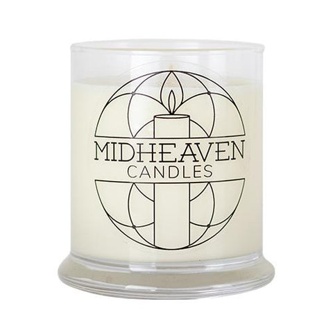 Midheaven Tobacco Vanilla Soy Candle // Large Glass Jar