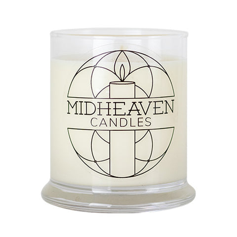 Midheaven Oakmoss and Amber Soy Candle // Large Glass Jar