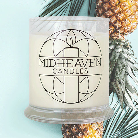 Midheaven Pineapple Sage Soy Candle // Featured Pineapple Sage Photo