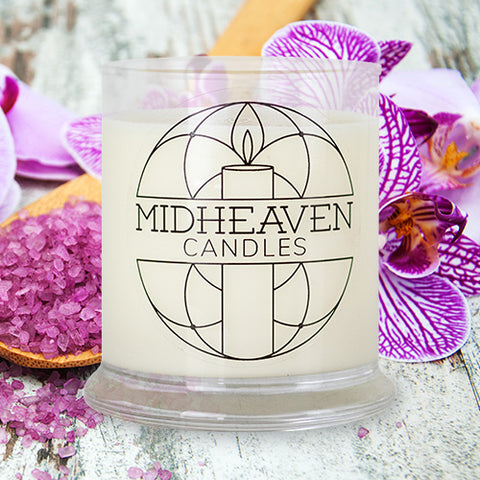 Midheaven Sea Salt and Orchid Soy Candle // Featured Sea Salt and Orchid Photo