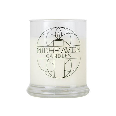 Midheaven Cranberry Woods Soy Candle // Small Glass Jar