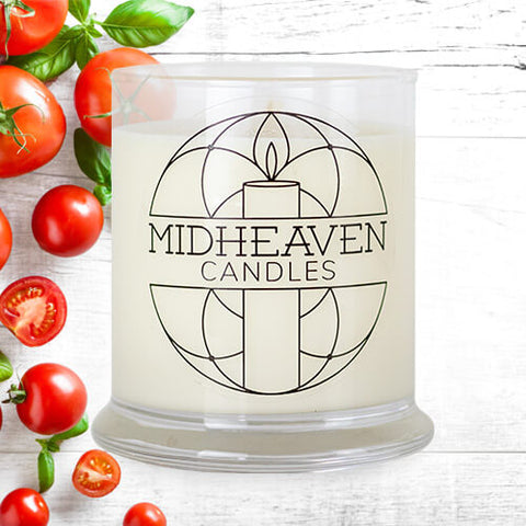 Midheaven Tomato Basil Soy Candle // Featured Tomato Basil Photo