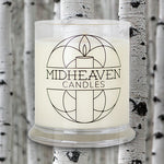 Midheaven White Birch Soy Candle // Featured White Birch Photo