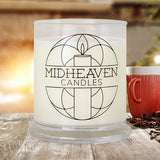 Midheaven Winter Hearth Soy Candle // Featured Winter Hearth Photo