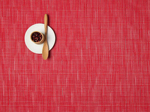 Chilewich Placemats Bamboo Rectangle Poppy