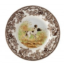 Spode Accent Plates Salad - Flat Coated Pointer