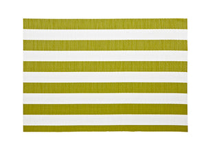 Harman Vinyl Placemats Cabana Strip Green (4998304)