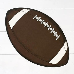 Hester & Cook Placemats Die Cut Football Placemat