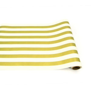 Hester & Cook Runners Gold Classic Stripe Runner